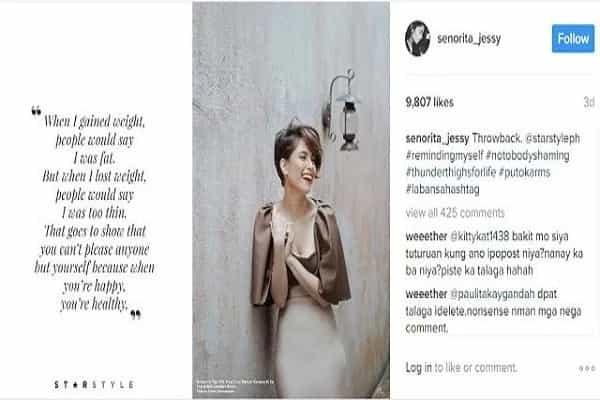 Netizens slam Jessy for copying Angel's IG photos