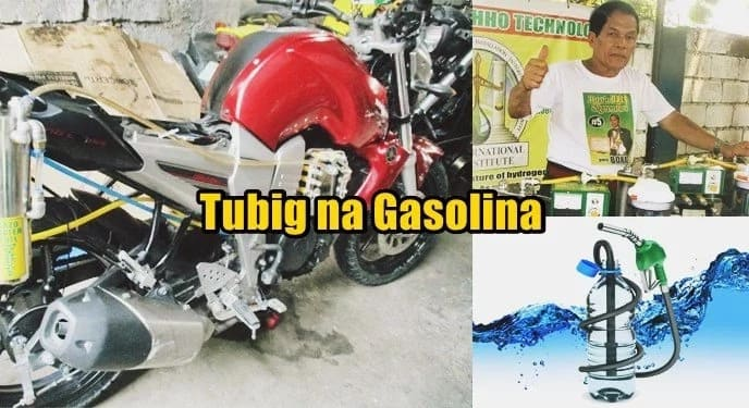 Water gasoline? Filipino inventor successfully runs vehicles with water