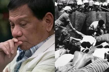 Duterte encourages peaceful commemoration of bloody Martial Law