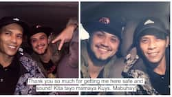 Awww! Billy Crawford develops an unlikely friendship with this Uber driver after his emergency was taken care of