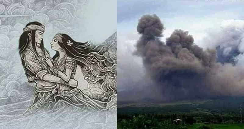 Akala ng iba edited lang yung picture! Video Footage Showing Actual Scene Of Panganoron & Magayon's Appearance In Mt. Mayon goes viral