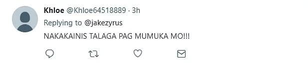 Jake Zyrus responds to netizens' different reactions on his 'ugly face' post.
