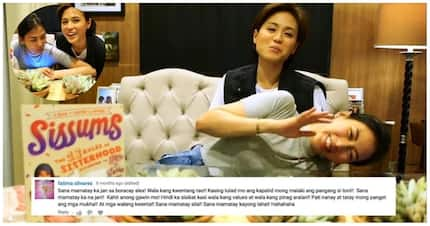 """""""Hate is a strong word,"""" Sissums' Toni at Alex Gonzaga nagbasa ng harsh comments online"""