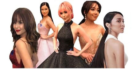Pabonggahan! Celebrities wow on the red carpet of the first-ever ABS-CBN Ball