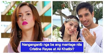 May problema nga ba? Cristine Reyes breaks her silence on rumors that her marriage to Ali Kathibi is in trouble