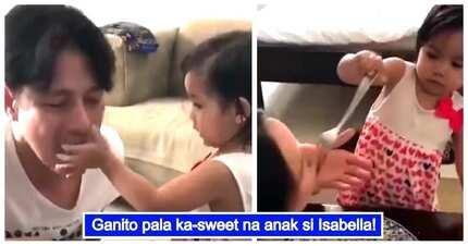 Mabait na bata! Video of Maria Isabella feeding her parents Robin Padilla & Mariel Rodriguez