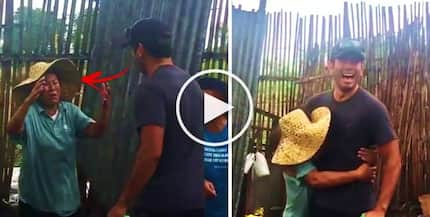 Watch Gerald Anderson pay a surprise visit to his mother while she was feeding her pigs at her GenSan home! Their encounter is so emotional!