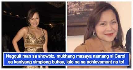 Nagquit man sa showbiz, mukhang masaya namang si Carol sa kaniyang simpleng buhay, lalo na sa achievement na to!