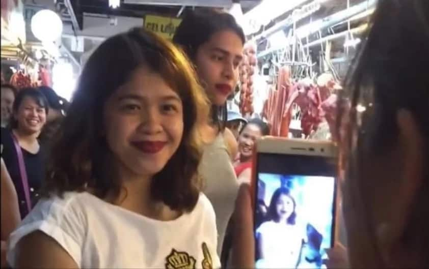 Palengke Queen ang dating! Melai Cantiveros mobbed by fans during her 'Palengke Tour'