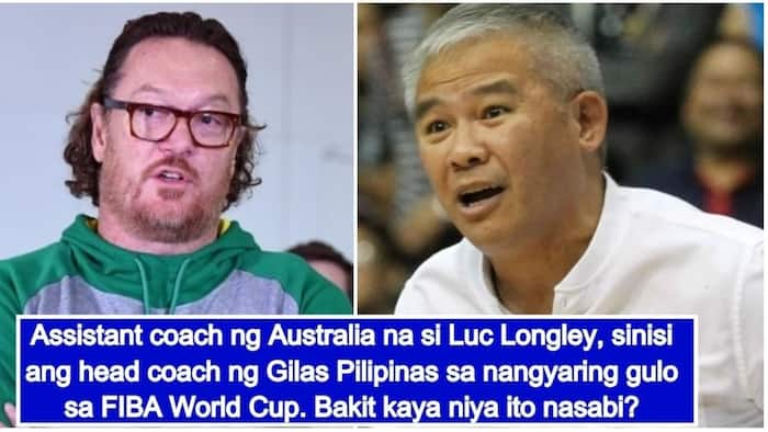 Luc Longley blames Gilas Pilipinas' head coach Chot Reyes for allowing the game to end in brawl
