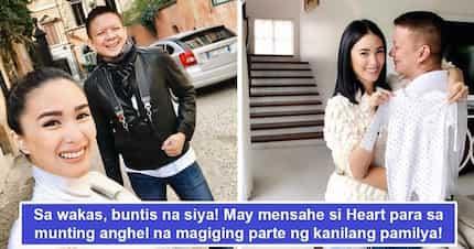 Buntis at last! Heart Evangelista ang Chiz Escudero excited nang makita ang kanilang munting anghel