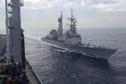 Taiwan rejects South China Sea ruling, sends warships to Spratly Islands
