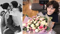 Father and son wow Sarah Lahbati with the sweetest birthday surprise