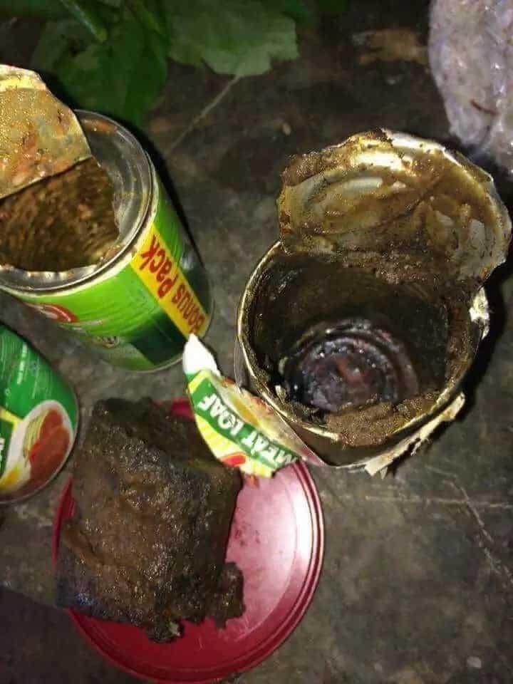 Residente ng Boracay, binigyan ng relief goods na kinakalawang at may insekto