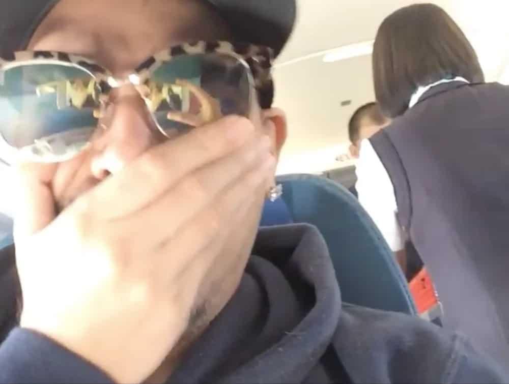 Netizen shares video of his flight attendant crush