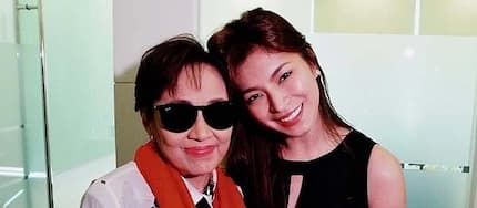 Angel Locsin opens up about touching moment with Vilma Santos at party