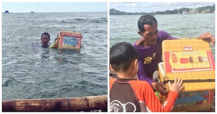 Vendor swims to sell ice cream goes viral