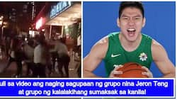Altercation between Jeron Teng's group and a group of men in BGC was caught on video