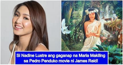 Bagay ba siya sa role? Nadine Lustre goes viral after being cast as Maria Makiling in James Reid's Pedro Penduko movie