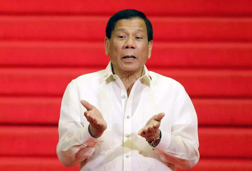 President Duterte's visit to Marawi City was cancelled because of the bad weather