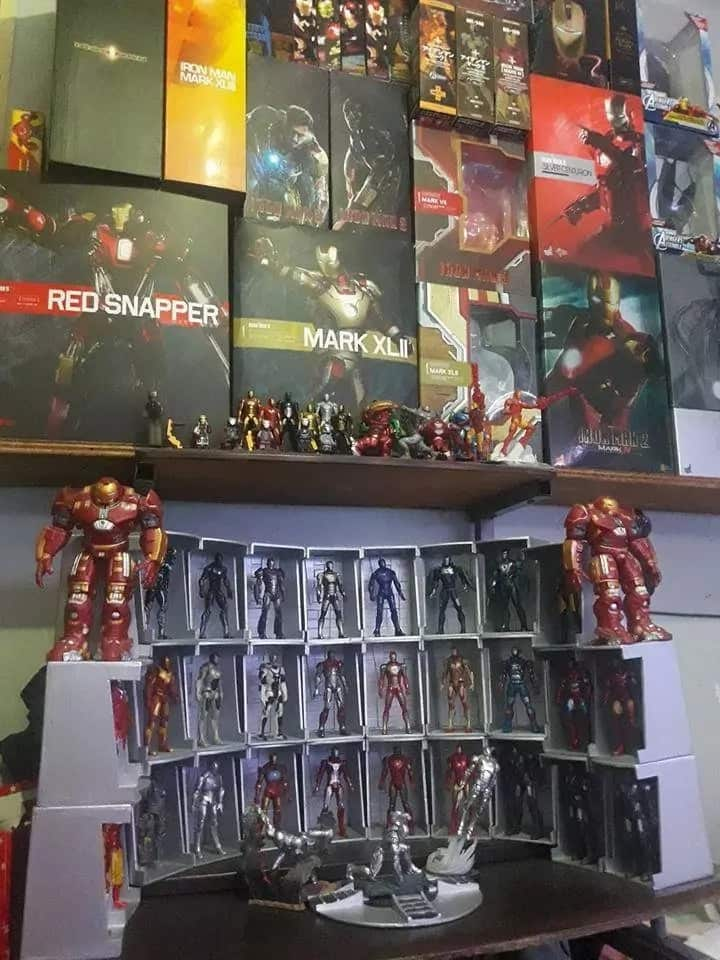 Kinarir ang koleksyon! Pinoy Ironman Action Figure Collector shares his unbelievable hobby