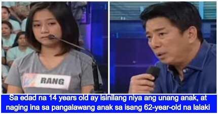 15 years old na ina bumuhos ang luha ng ikwento ang buhay kay Kuya Wil