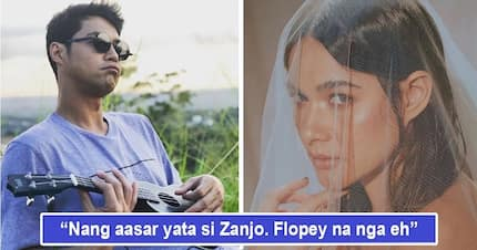 "Inaasar lang daw? Zanjoe Marudo happily congratulates Bea Alonzo on ""Kasal"" despite movie alleged to be a flop"
