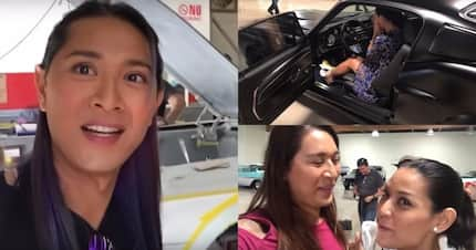 Transwoman surprises wife with dream car. Not everyone will understand ther relationship but this is what true love is