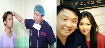 Xander Ford's successful transformation, done by dead Shirly Saturnino's doctor from The ICON Clinic