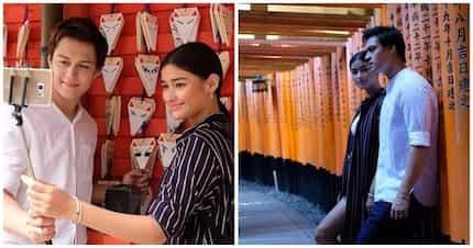 Ang sweet nanaman nila! Liza Soberano and Enrique Gil enjoy their Japan trip as its newest tourism ambassadors