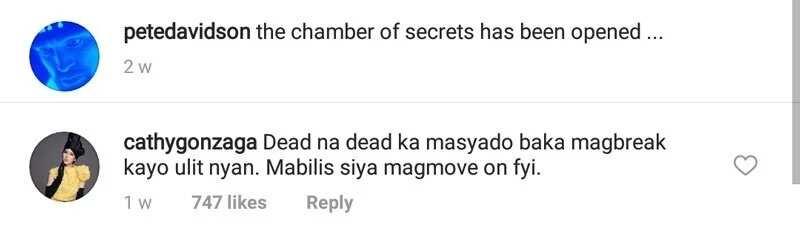 Alex Gonzaga nilampaso ng netizens pagkatapos magbigay ng 'warning' kay Ariana na baka mag-break lang pagkatapos ng engagement