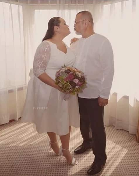 LOOK! Cai Cortez weds Afam bf in Manila