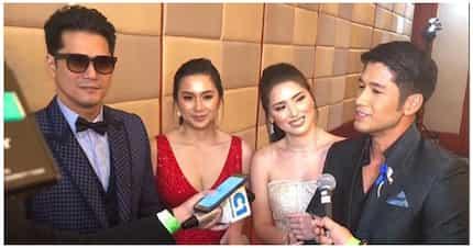 Nakaka good vibes! Robin, Mariel at Kylie Padilla kasama si Aljur Abrenica, magkakasama sa ball