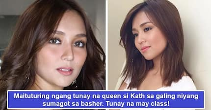 Siya dapat ang peg sa pagsagot sa bashers! Kathryn Bernardo's classy response to basher may just teach fellow celebs on how to handle haters online