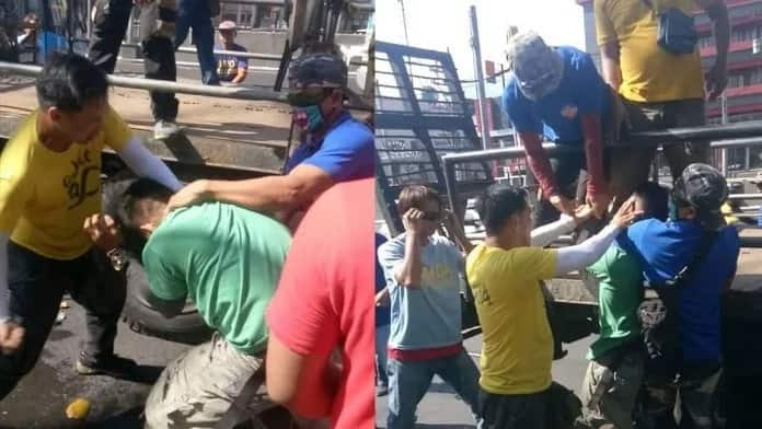 Nabuko si mamang magbubuko! Buko vendor who got beaten clearing operation by MMDA gets arrested