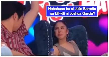 Nabahuan ba? Julia Barretto's hilarious reaction after smelling Joshua Garcia's armpit caught on video