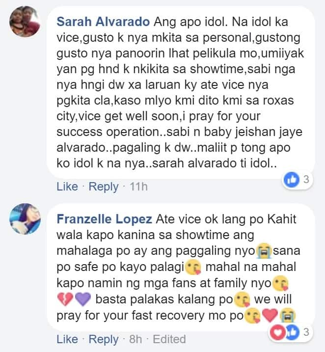 Marami talaga nagmamahal sa kanya! Netizens send their get well wishes for Vice Ganda who will undergo operations for kidney stone removal