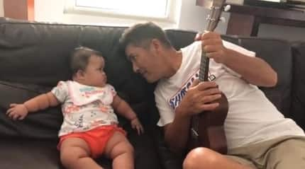 Hindi bumilib! Hilarious video of Vic Sotto's failed attempt to amuse & make baby Tali laugh