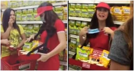 Walang kaarte-arte! Yassi Pressman spotted disguising in a mall