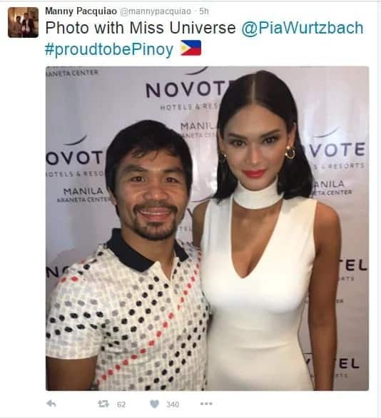 Pinoy Pride: Manny and Pia meet in PH