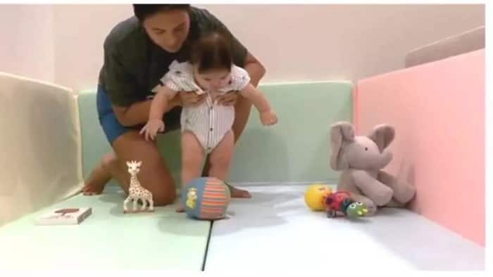 5-month-old Baby Balthazar ni Isabelle Daza at Adrien Semblat trending online