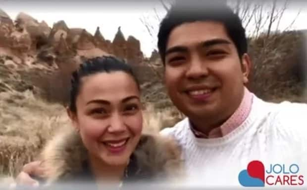 Netizens react to the New Year greeting of Jodi Sta. Maria and Jolo Revilla