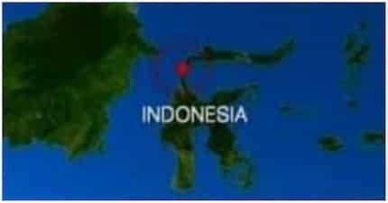 Sulawesi island sa Indonesia, niyanig ng Magnitude 7.5 na lindol
