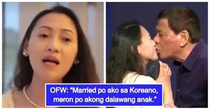 OFW na hinalikan ni President Duterte, nagsalita na ukol sa kontrobersyal na insidente!