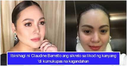 Claudine Barretto ibinunyag ang kanyang beauty secret kaya hindi kumukupas ang kagandahan