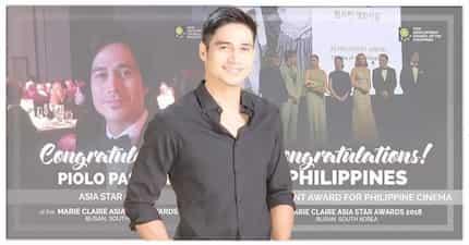 Piolo Pascual, nagwaging Asia Star Award sa Marie Claire Star Awards 2018