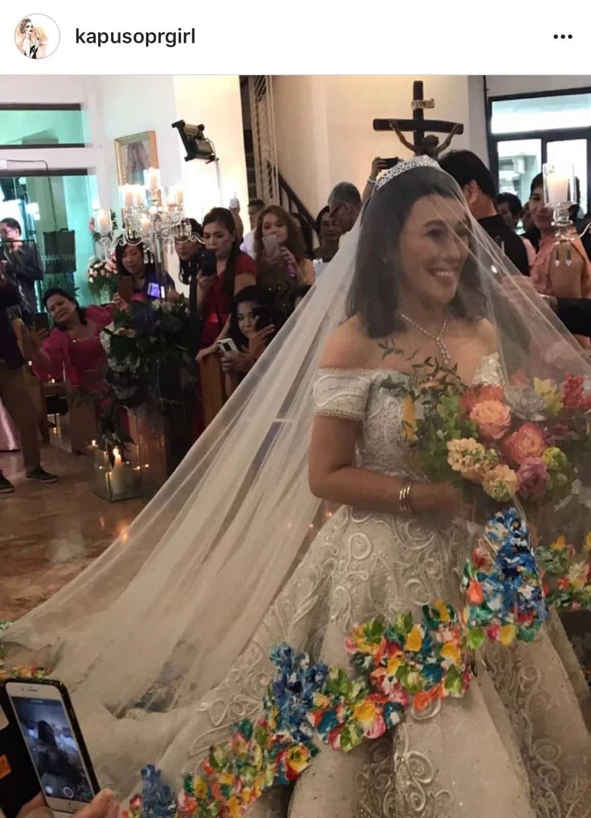 Photos & video from inside the church where Ai-Ai delas Alas & Gerald Sibayan got married go viral