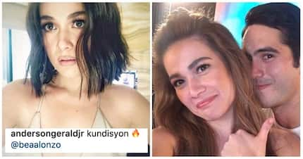 Super nakakakilig! Netizens couldn't help but gush over Gerald Anderson's comment on Bea Alonzo's sultry photo