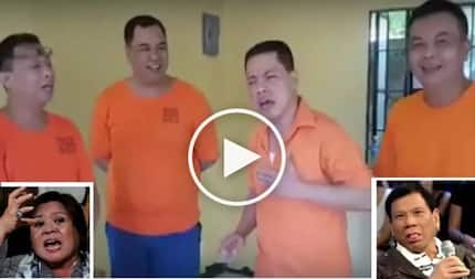 Nang-asar pa! Defiant convicts dedicate hilarious song to embattled De Lima