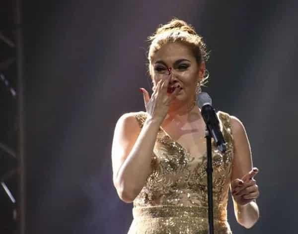 K Brosas inasar nang husto si Angeline Quinto sa 18K concert nito